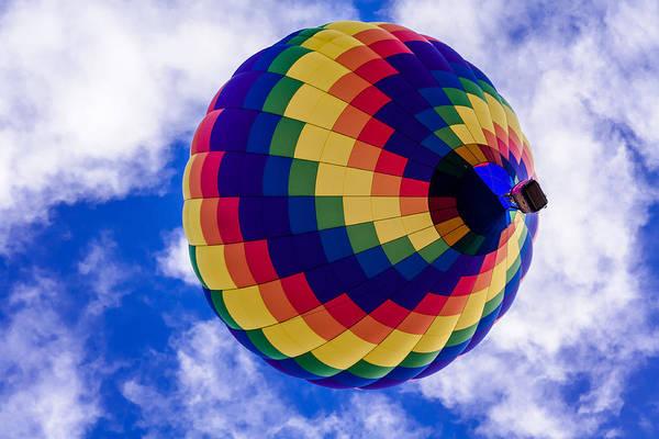 Photograph - Hot Air Balloon Rainbow by Teri Virbickis