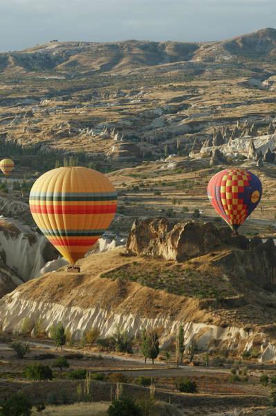 Cappadocia Photograph - Hot-air Balloon Ride Over Cappadocia by Seongjoon Cho