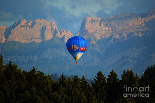 Photograph - Hot Air Balloon by Susanne Van Hulst