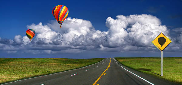 Hot Air Balloons Art Print by Carlos Gotay
