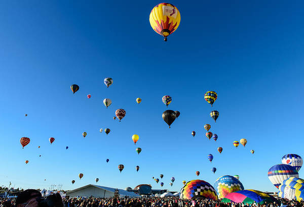 Photograph - Hot Air Balloons by John Johnson