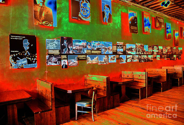Solarized Photograph - Hot Bar-glow by Paul W Faust -  Impressions of Light