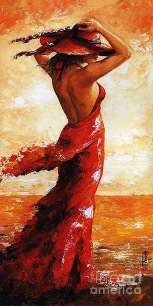Wall Art - Painting - Hot Breeze # 5 by Emerico Imre Toth