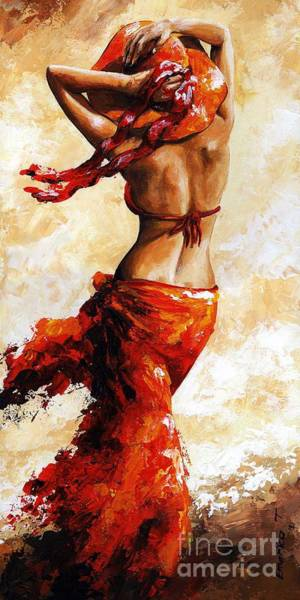 Wall Art - Painting - Hot Breeze 03 by Emerico Imre Toth