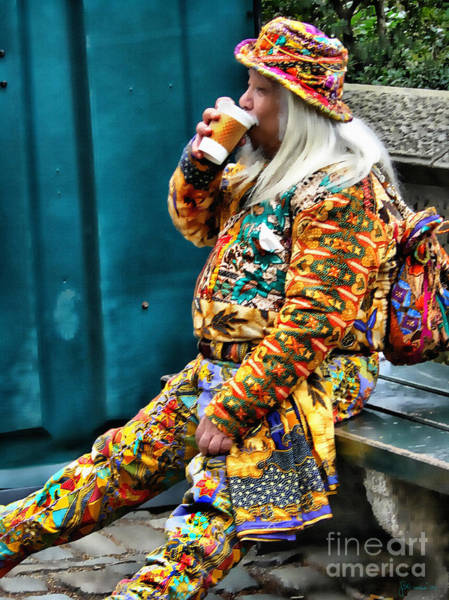 Photograph - Hot Coffee And Haute Couture by Jeff Breiman