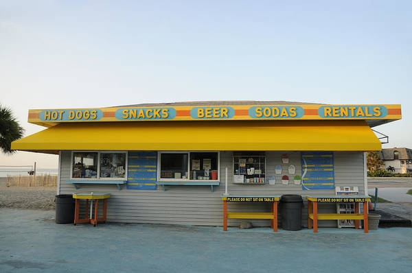Photograph - Hot Dog Stand Cocoa Beach by Bradford Martin
