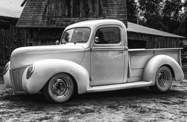 Photograph - Hot Farm Truck by Thomas Young