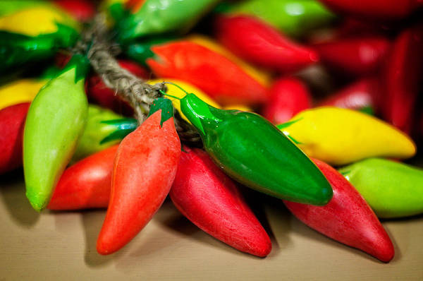 Photograph - Hot Peppers by Andy Crawford