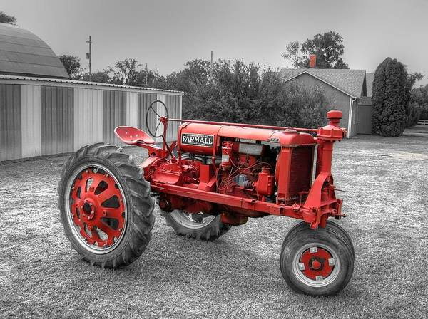 Photograph - Hot Red  by HW Kateley