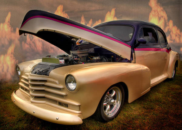 Photograph - Hot Rod From Heaven by Thomas Young