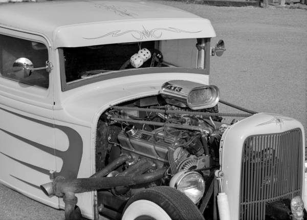Photograph - Hot Rod by HW Kateley