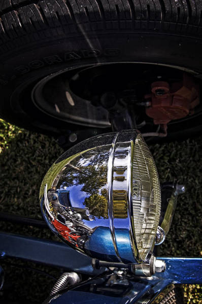 Photograph - Hot Rod In Lights by Andy Crawford