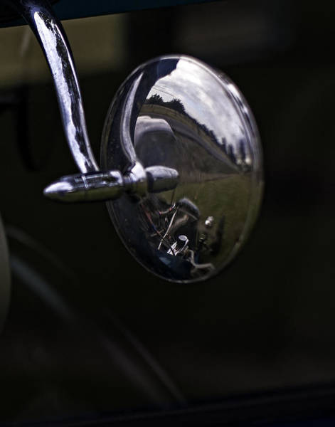 Photograph - Hot Rod In Reflection by Andy Crawford