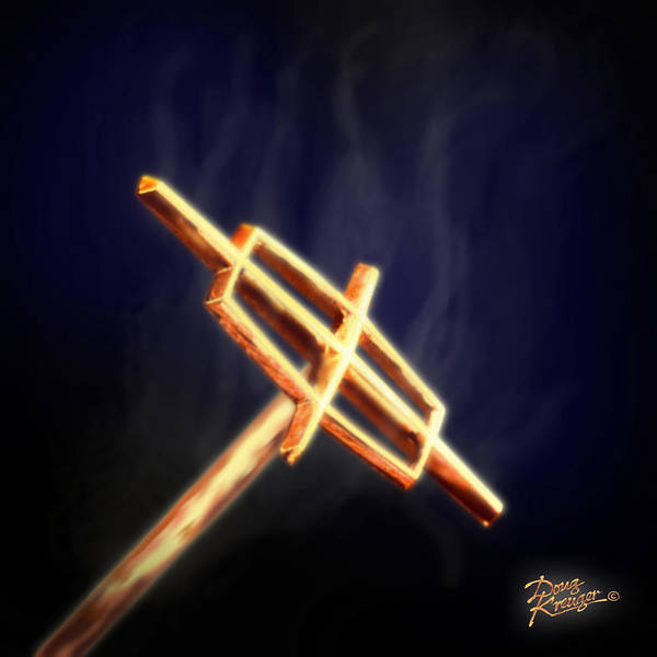 Hot Rod Digital Art - Hot Rod Lincoln by Doug Kreuger