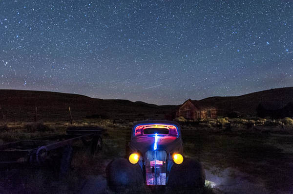 Bodie Ghost Town Wall Art - Photograph - Hot Rod Nights by Cat Connor