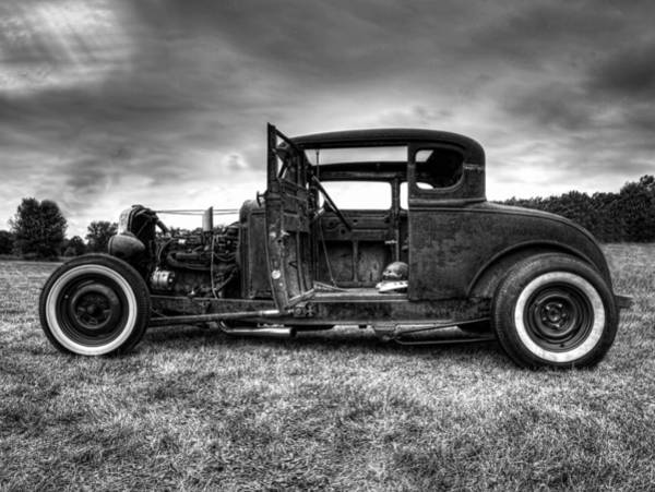 Photograph - Hot Rod Revisited by Thomas Young