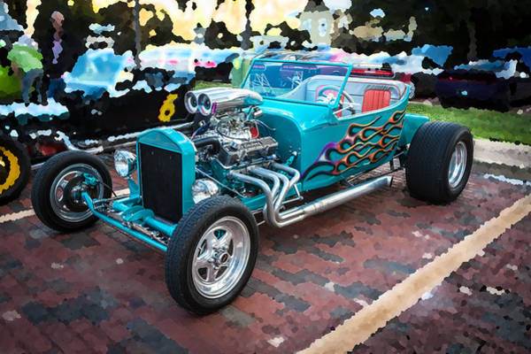 Street Racer Photograph - Hot Rod Row by Rich Franco