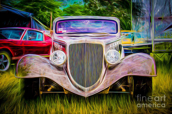 Wall Art - Photograph - Hot Rod Show by Perry Webster