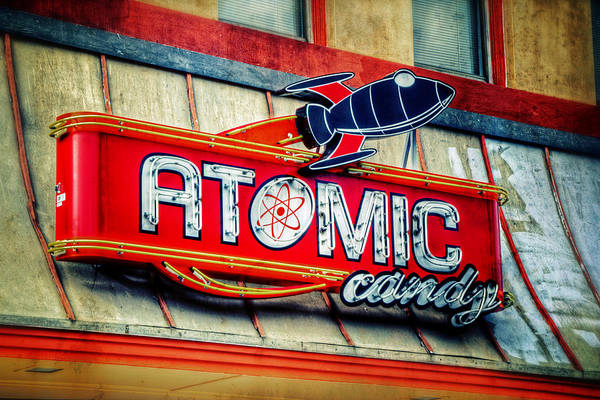 Atomic Photograph - Hot Stuff by Joan Carroll