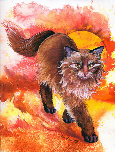 Painting - Hot Stuff by Sherry Shipley
