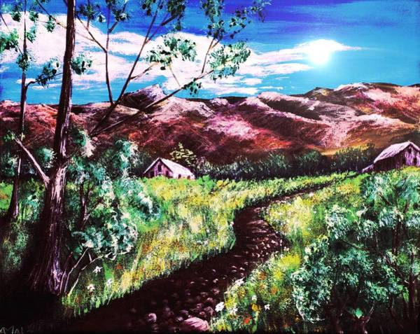 Painting - Hot Summer Day by Anastasiya Malakhova