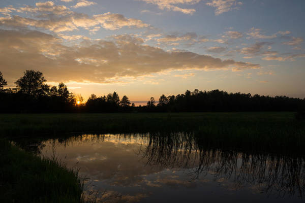 Southern Ontario Photograph - Hot Summer Sunset At The Farm by Georgia Mizuleva