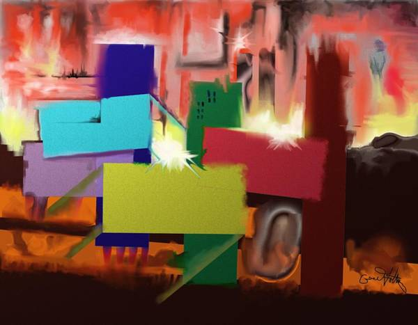 Painting - Hot Time by Eugene Foltuz