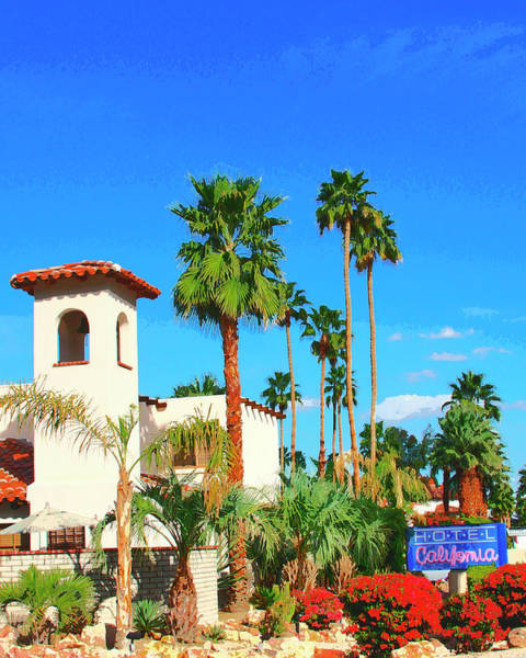 Wall Art - Photograph - Hotel California Palm Springs by William Dey