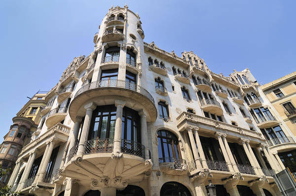 Photograph - Hotel Casa Fuster Barcelona Spain by Matthias Hauser