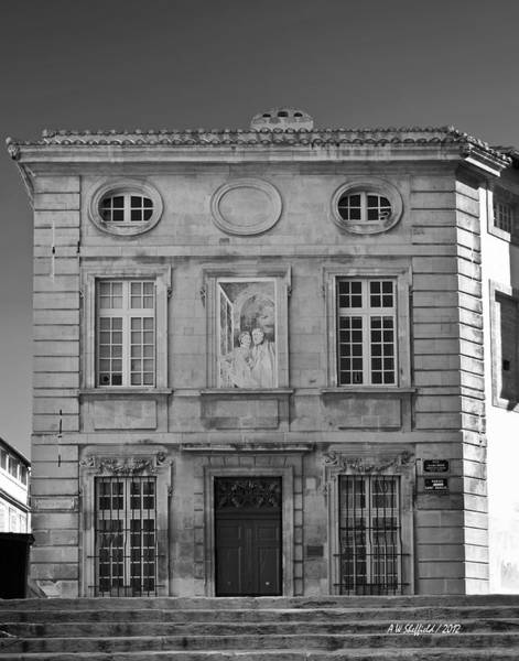 Photograph - Hotel De Brantes - Avignon France by Allen Sheffield