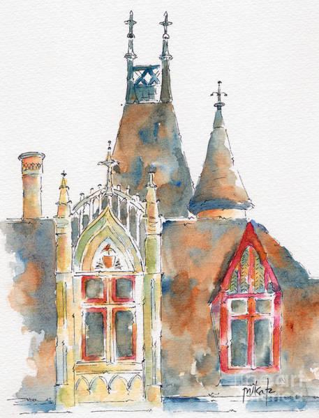 Painting - Hotel De Sens Paris by Pat Katz