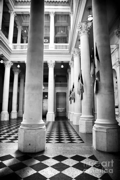 Photograph - Hotel De Ville Architecture by John Rizzuto