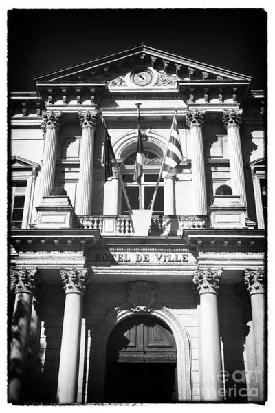 Photograph - Hotel De Ville Avignon by John Rizzuto