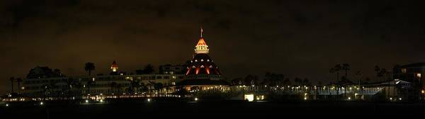 Photograph - Hotel Del Coronado At Night by Nathan Rupert