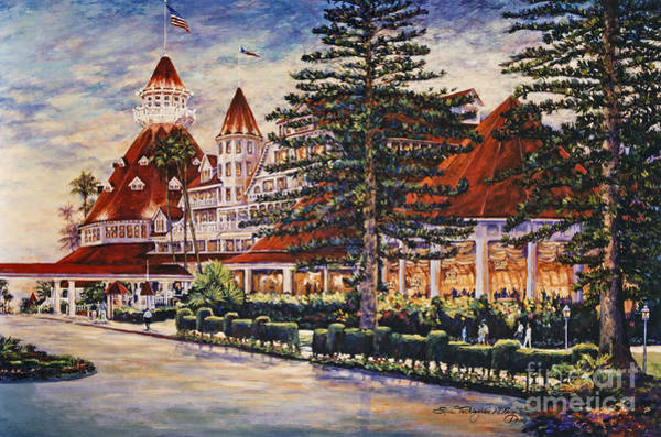 Painting - Hotel Del Sunset by Glenn McNary