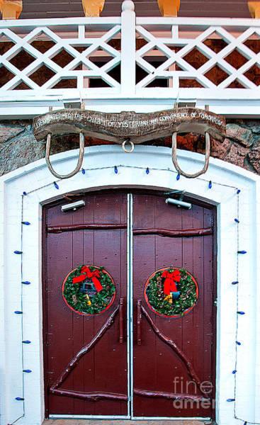 Photograph - Hotel Door by Mae Wertz