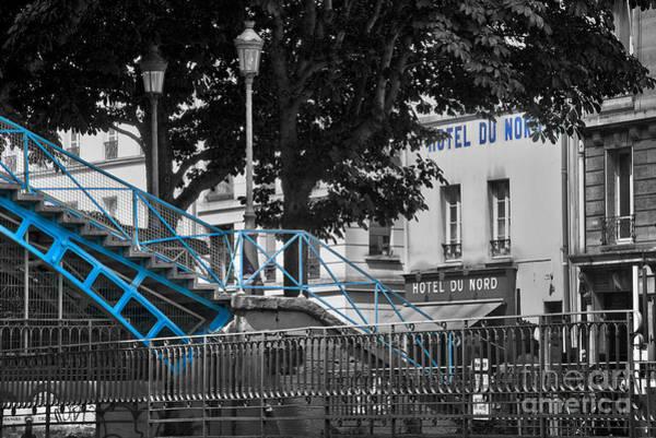 Parisian Photograph - Hotel Du Nord by Delphimages Photo Creations