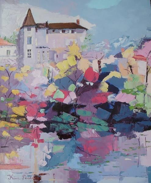 Wall Art - Painting - hotel Fayolle by Kim PARDON