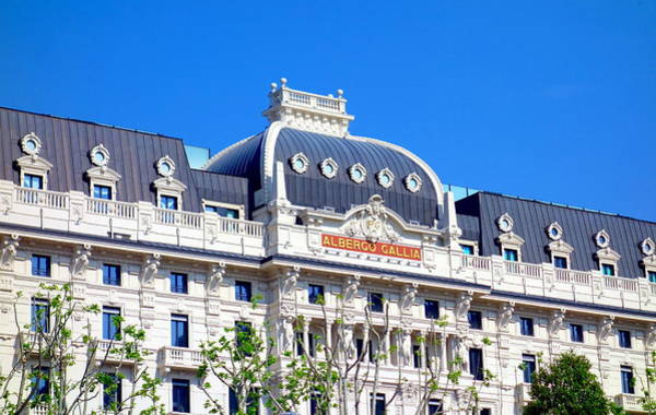 Wall Art - Photograph - Hotel Gallia by Valentino Visentini