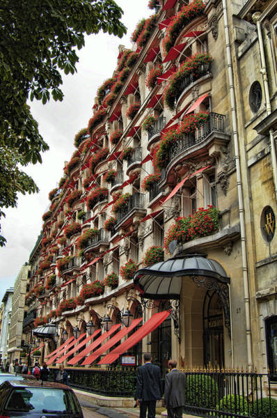 Photograph - Hotel In Paris by Mauro Celotti