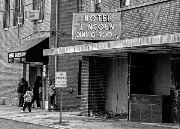 Photograph - Hotel Lincoln Dining Room 2 by Andy Crawford