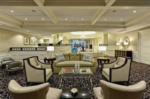 Wall Art - Photograph - Hotel Lobby  by M Cohen