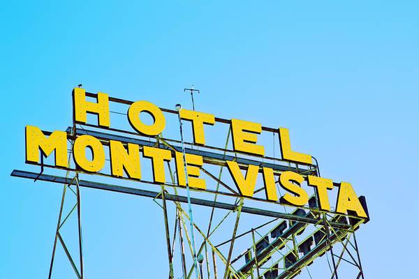 Hotel Monte Vista Art Print