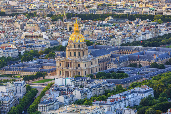 French Quarter Photograph - Hotel National Des Invalides, Paris by Pawel Libera