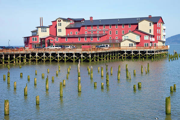 Astoria Photograph - Hotel On A Pier, Cannery Pier Hotel by Panoramic Images