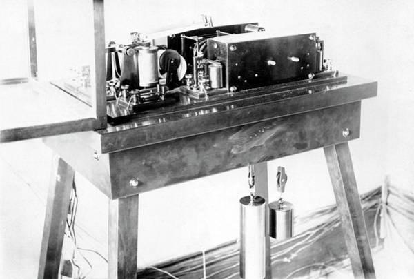 Printing Photograph - Hough's Printing Chronograph by Royal Astronomical Society