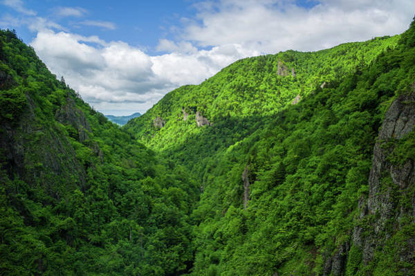 Japanese Culture Photograph - Houheikyou Valley, Hokkaido, Japan by Kelvin Tse Photography