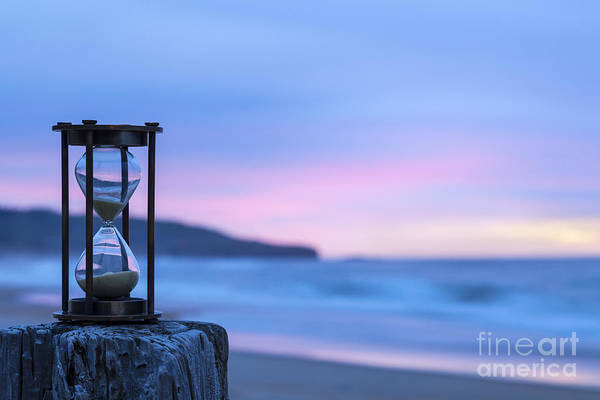 Deadline Wall Art - Photograph - Hourglass Twilight Sky by Colin and Linda McKie