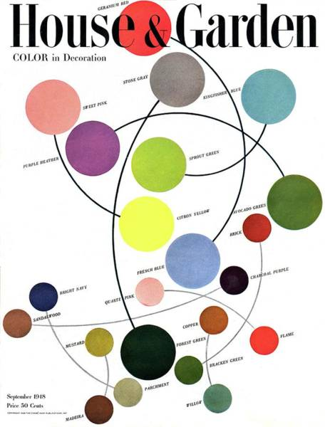 Curve Photograph - An Illustration Of Color by Herbert Matter