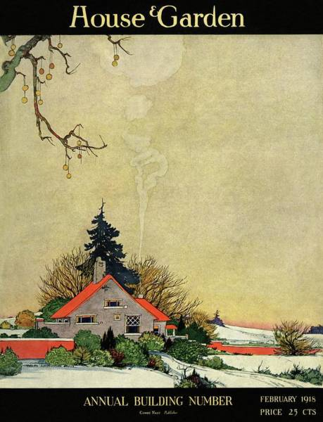 Season Photograph - House And Garden Annual Building Number Cover by Charles Livingston Bull